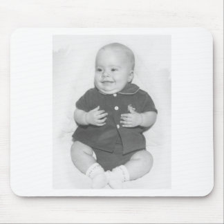 1950's Portrait of Baby Boy Mousepads