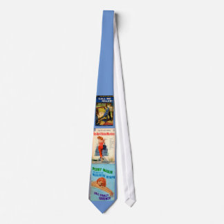 1950s pulp novel covers tie