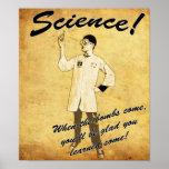 1950s Retro Science Poster