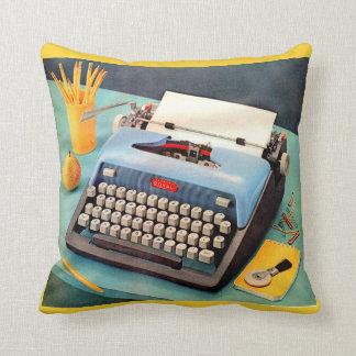 1950s typewriter cushion