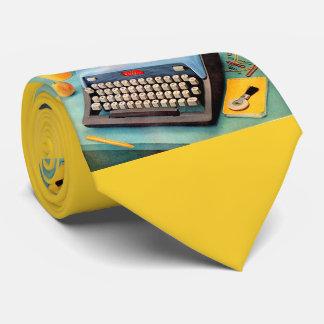 1950s typewriter tie
