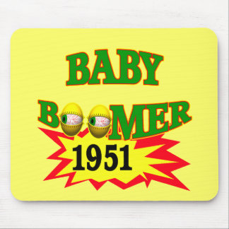 1951 Baby Boomer Mousepads