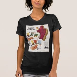 1951 Keds ad Tee Shirt