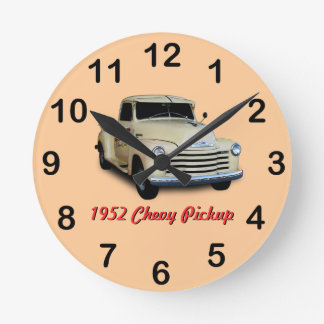 1952 Chevy Pickup Round Clock