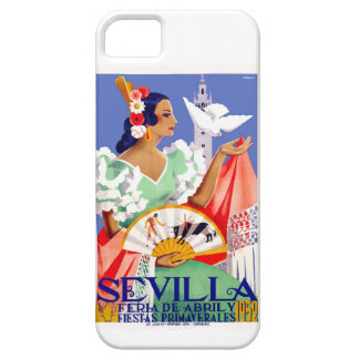 1952 Seville Spain April Fair Poster Case For The iPhone 5