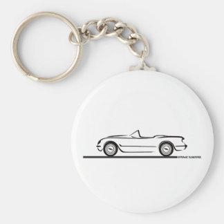 1953 1954 1955 Corvette Key Ring