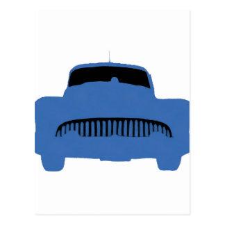 1953 Buick Pop Art Blue Postcard