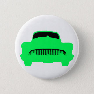1953 Buick Pop Art Car Green 6 Cm Round Badge