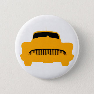1953 Buick Square Orange 6 Cm Round Badge