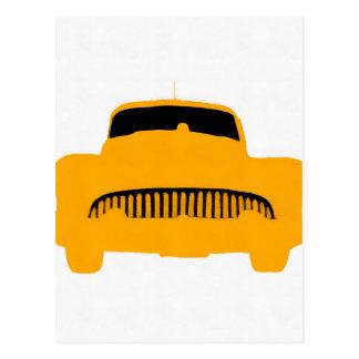 1953 Buick Square Orange Postcard
