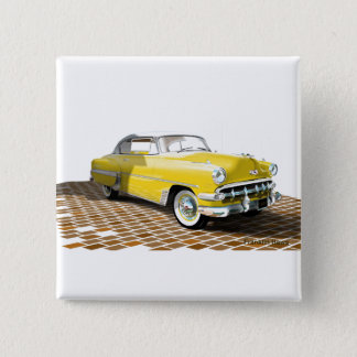 1953 Chevy 15 Cm Square Badge