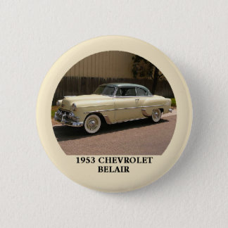 1953 Chevy BelAir Button