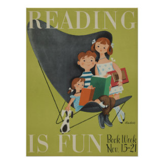 1953 Children's Book Week Poster