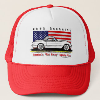 1953 Corvette Baseball / Trucker Cap