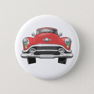 1953 Oldsmobile 6 Cm Round Badge