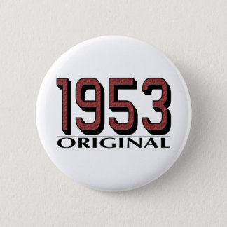 1953 Original 6 Cm Round Badge