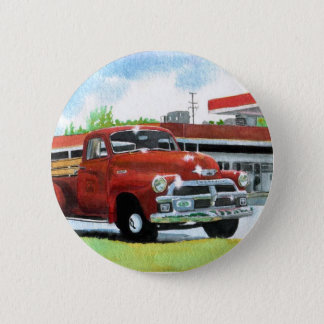 1954 Antique Truck Button