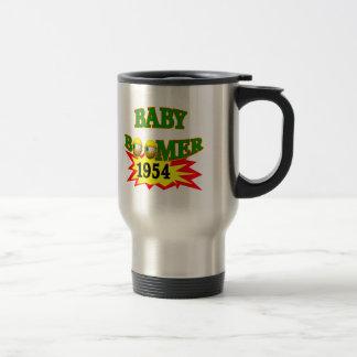 1954 Baby Boomer Stainless Steel Travel Mug