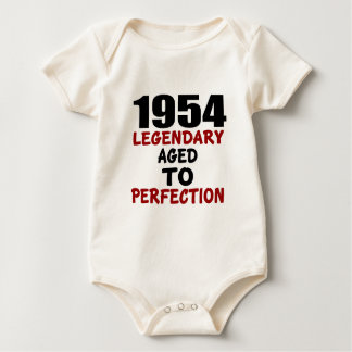 1954 LEGENDARY AGED TO PERFECTION BABY BODYSUIT