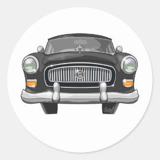 1954 Nash Round Sticker