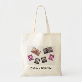 1954 Was a GREAT Year Budget Tote Bag