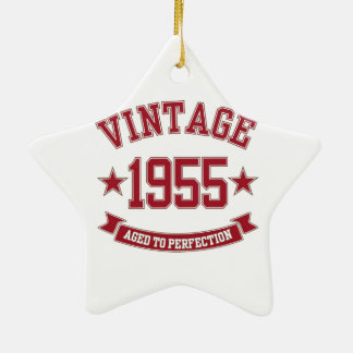 1955 Aged to Perfection Christmas Ornament