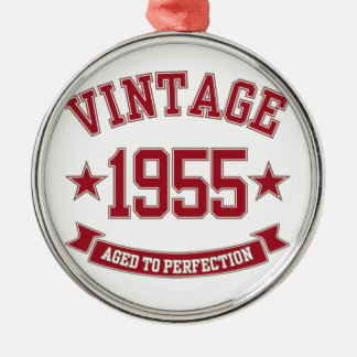 1955 Aged to Perfection Christmas Ornaments