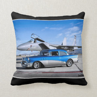 1955 Buick Special Classic Car Fighter Jet Cushion