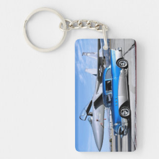 1955 Buick Special Classic Car Fighter Jet Key Ring