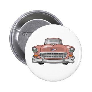 1955 Chevrolet Bel Air 6 Cm Round Badge