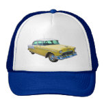 1955 Chevrolet Bel Air Antique Car Trucker Hats