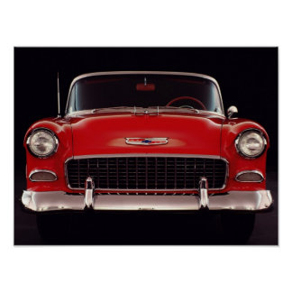 1955 Chevrolet Bel-Air Poster
