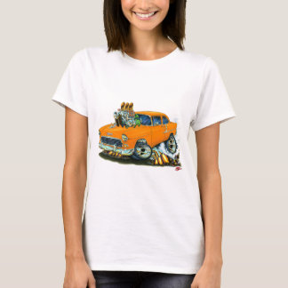 1955 Chevy 150-210 Orange Car T-Shirt