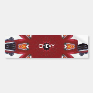 1955 chevy artwork, CHEVY Car Bumper Sticker