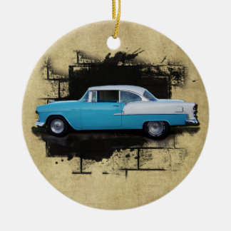 1955 Chevy Bel Air- Classic Car-Ornament Ceramic Ornament