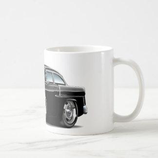 1955 Chevy Belair Black Car Coffee Mug