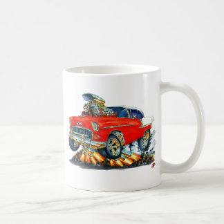 1955 Chevy Belair Red Car Coffee Mug