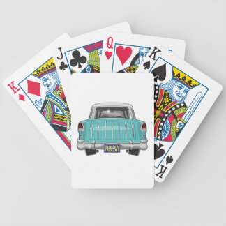 1955 Chevy Nomad Bicycle Playing Cards