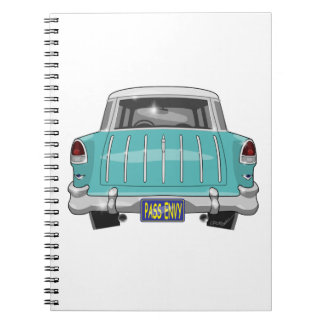 1955 Chevy Nomad Spiral Note Book
