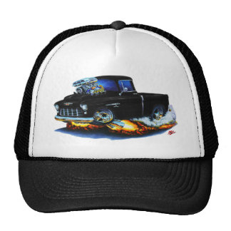 1955 Chevy Pickup Black Truck Cap