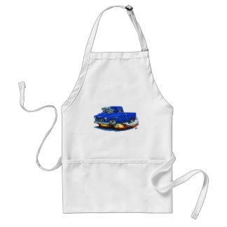 1955 Chevy Pickup Blue Truck Standard Apron