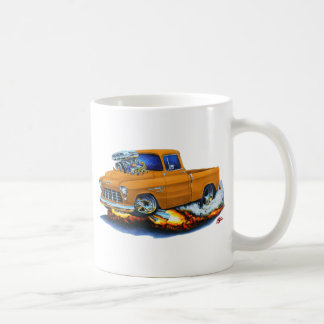 1955 Chevy Pickup Orange Truck Coffee Mug