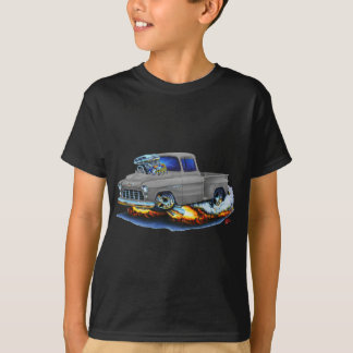 1955 Chevy Stepside Pickup Grey Truck T-Shirt