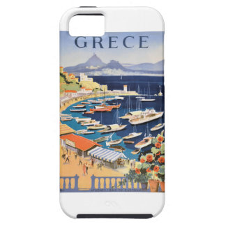 1955 Greece Athens Bay of Castella Travel Poster Case For The iPhone 5