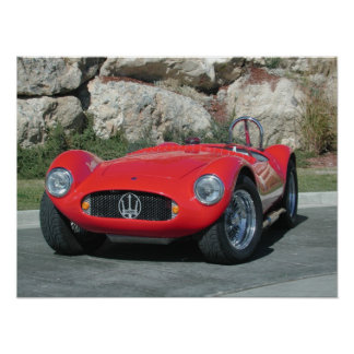 1955 Maserati A6GC5 Roadster Poster