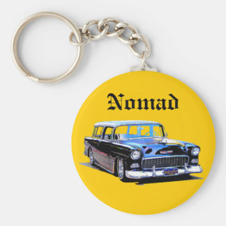 1955 Nomad Basic Round Button Key Ring