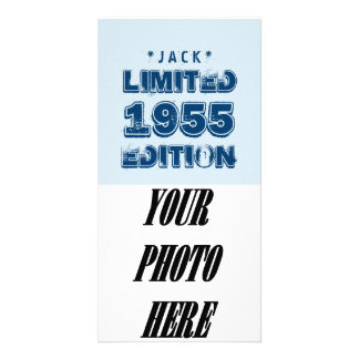 1955 or Any Year Birthday Limited Edition 60th V4Z Picture Card