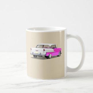 1955 Shoebox Mug - Pink and White