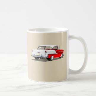 1955 Shoebox Mug - Red and White
