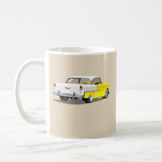 1955 Shoebox Mug - Yellow and White